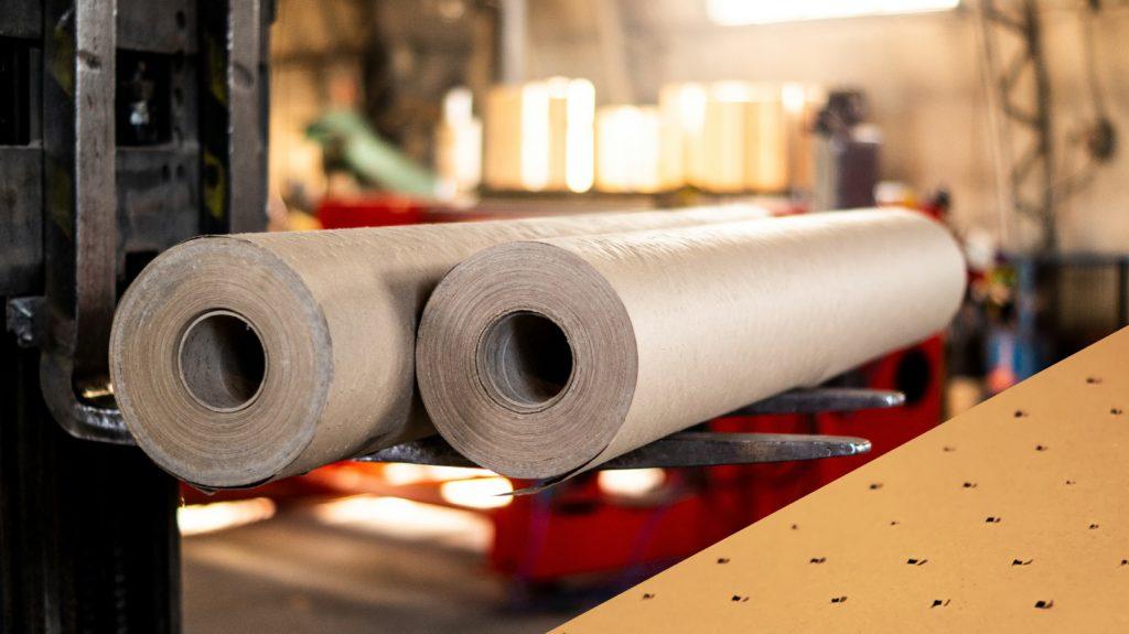 Makulaturowy papier perforowany. Zastosowania: -wielowarstwowe krojenie tkanin i włóknin -podkład w krojowniach przemysłowych